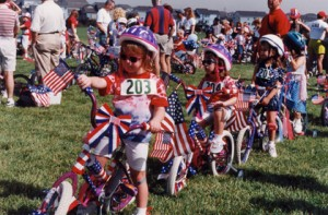 July 4 bike parade