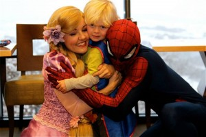 BackCountry Rapunzel and Spiderman