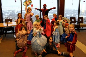BackCountry Superhero and Princess party