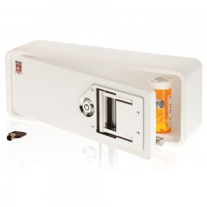 medicine cabinet with lock