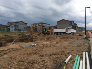 Shea Homes Colorado construction site