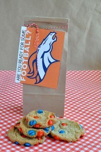 Denver Broncos cookies BackCountryCO Pinterest