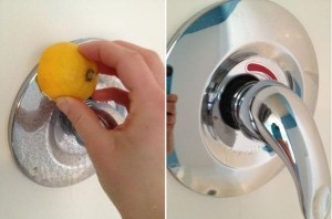 clean-shower-faucets-with-lemon
