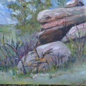Cherokee Ranch Painting