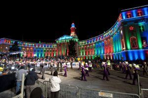 Downtown Denver- Parade of Lights